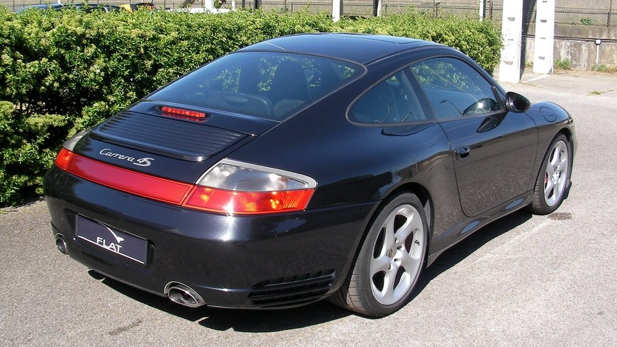 occasion porsche 911 carrera 4s type 996 noir basalte chez flat 69 lyon r gion rh ne alpes. Black Bedroom Furniture Sets. Home Design Ideas