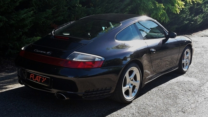 occasion porsche 911 carrera 4s x51 type 996 noir basalte chez flat 69 lyon r gion rh ne alpes. Black Bedroom Furniture Sets. Home Design Ideas