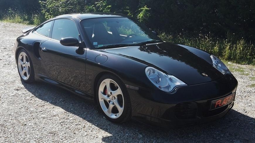 occasion porsche 911 turbo type 996 noir chez flat 69 lyon r gion rh ne alpes. Black Bedroom Furniture Sets. Home Design Ideas