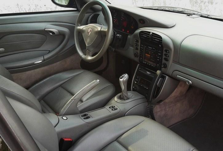 occasion porsche 911 turbo type 996 noir chez flat 69