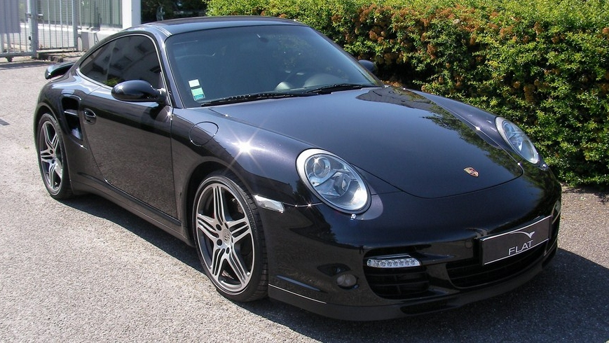occasion porsche 911 turbo type 997 noir basalte chez flat 69 lyon r gion rh ne alpes. Black Bedroom Furniture Sets. Home Design Ideas