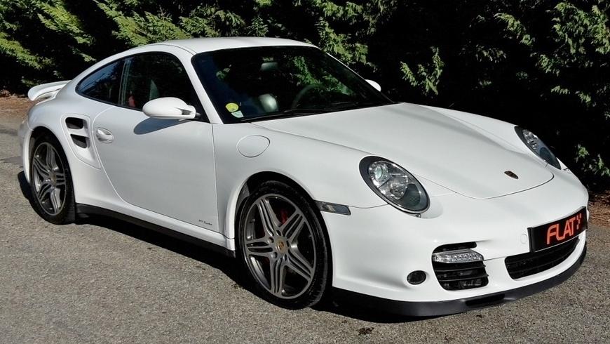 occasion porsche 911 turbo type 997 blanc chez flat 69 lyon r gion rh ne alpes. Black Bedroom Furniture Sets. Home Design Ideas