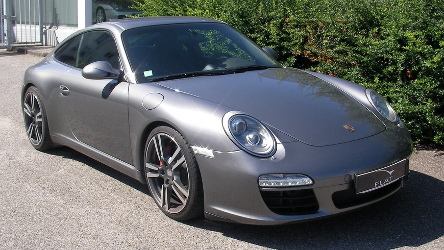 occasion porsche 911 carrera s type 997 gris m t or chez flat 69 lyon r gion rh ne alpes. Black Bedroom Furniture Sets. Home Design Ideas