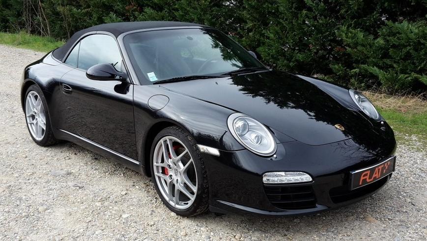 occasion porsche 911 carrera s cabriolet type 997 noir