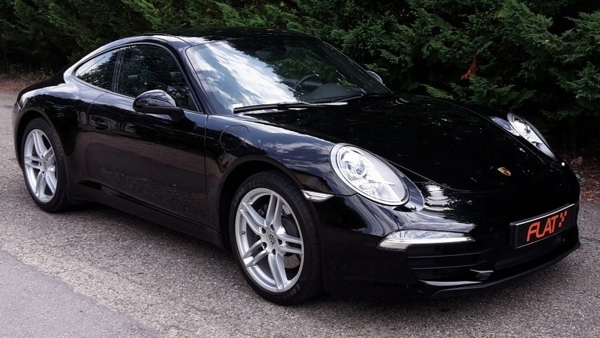 occasion porsche 911 carrera type 991 noir chez flat 69 lyon r gion rh ne alpes. Black Bedroom Furniture Sets. Home Design Ideas