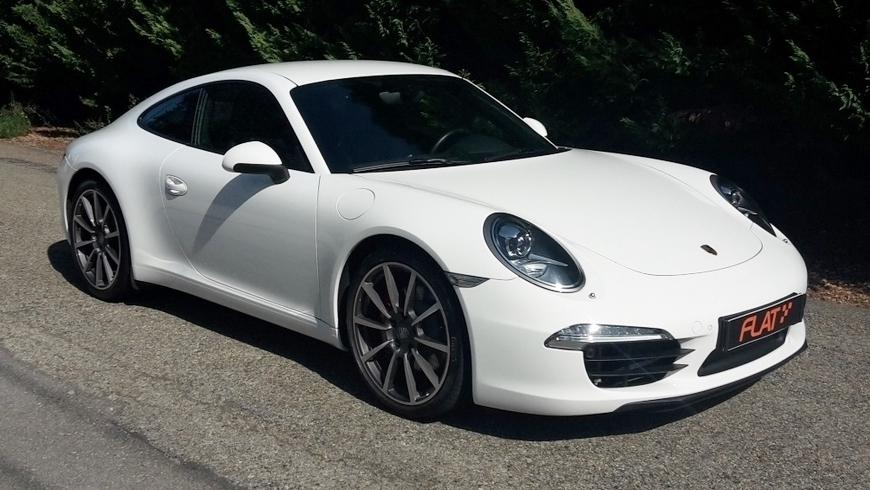 occasion porsche 911 carrera s type 991 blanc chez flat 69 lyon r gion rh ne alpes. Black Bedroom Furniture Sets. Home Design Ideas